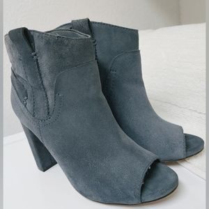 Vince Camuto Camey Suede Leather Ankle Bootie 6.5